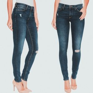 LUCKY BRAND | mid rise skinny jean